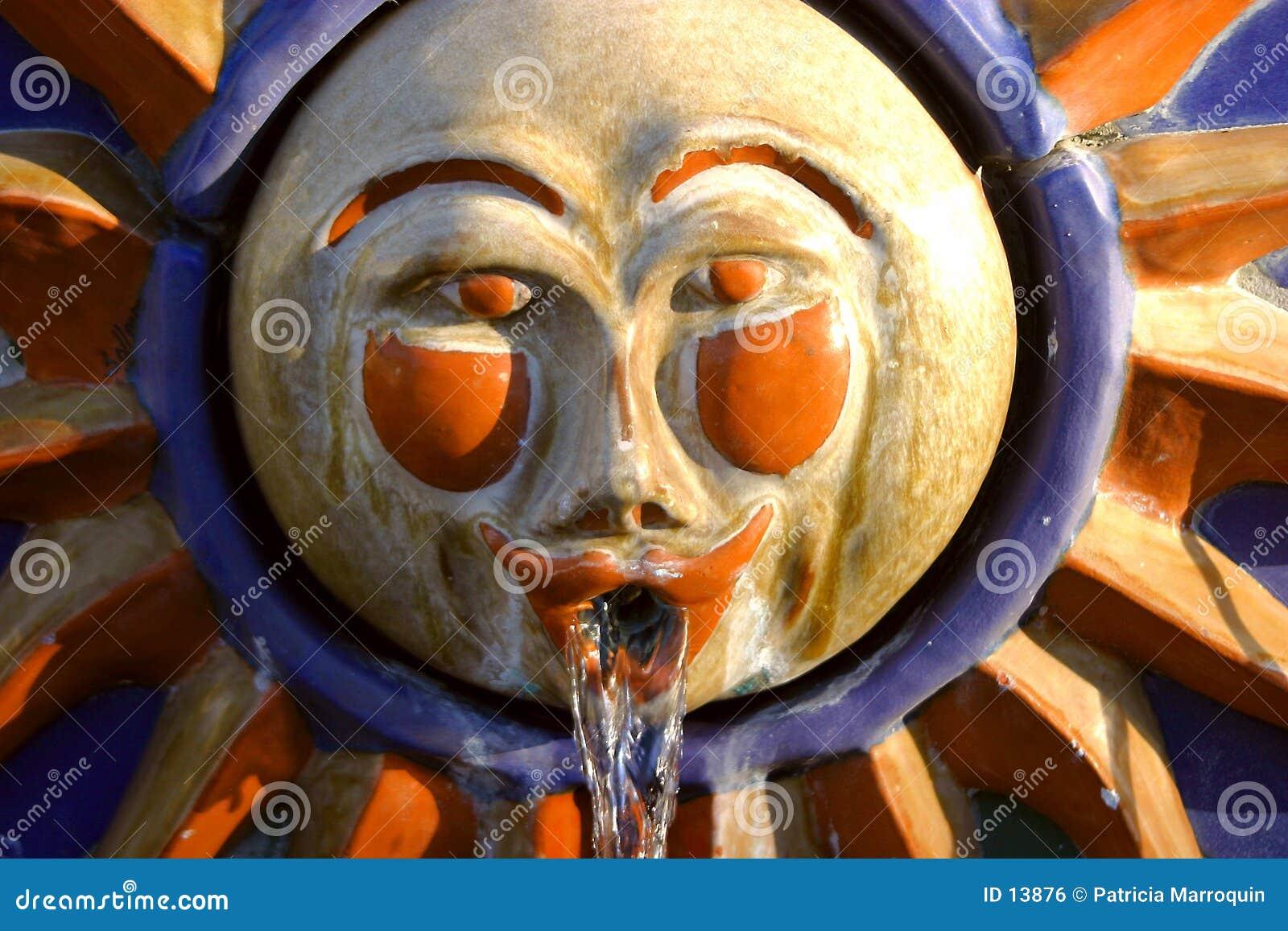 Lassen Sie den Sun innen glänzen