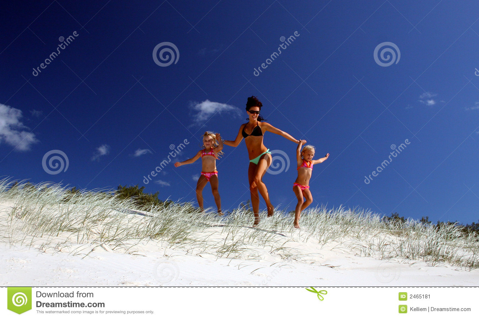 Lassen Sie uns den Strand schlagen!