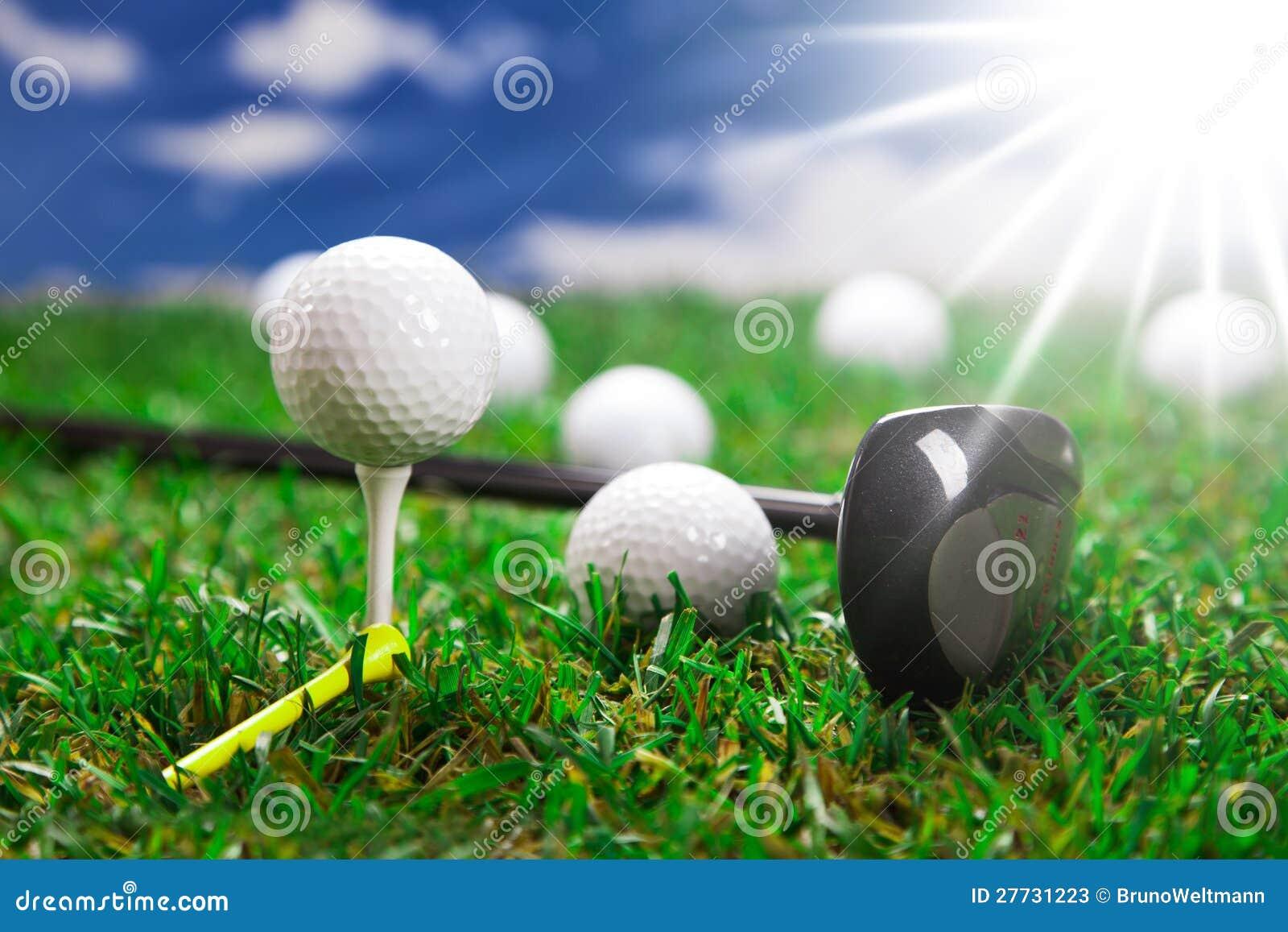 Lassen Sie uns ein Golf spielen!
