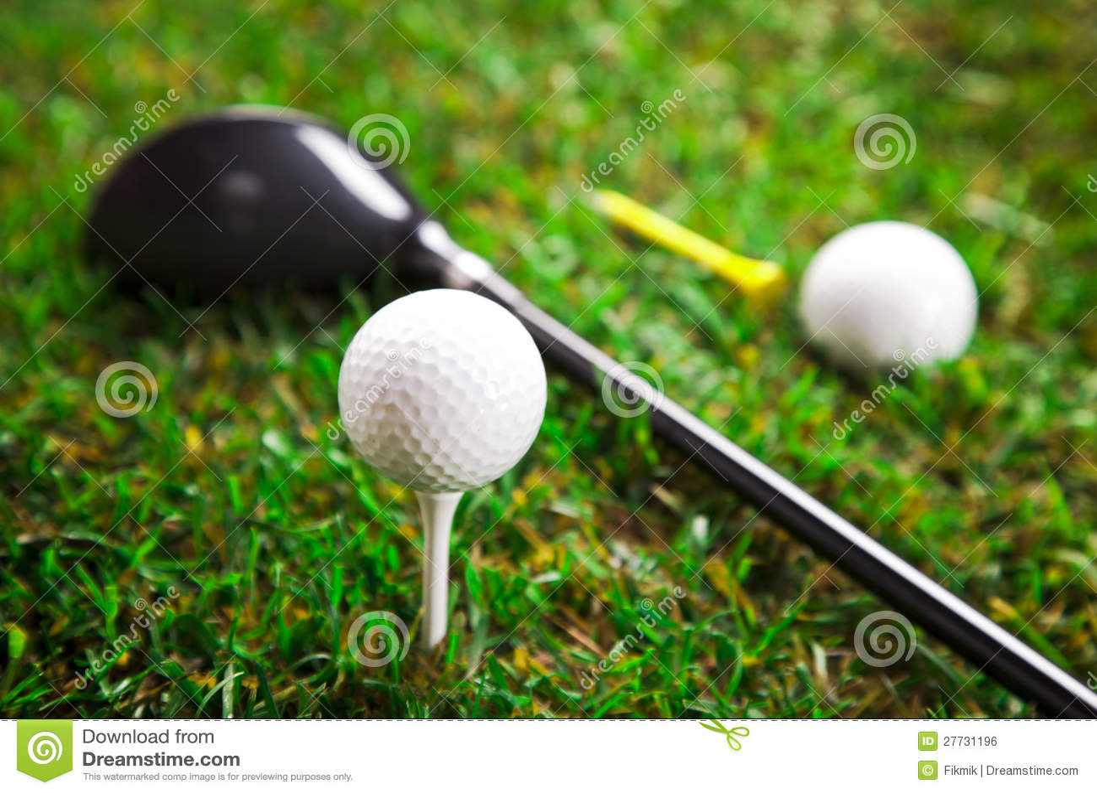 Lassen Sie uns einen Umlauf des Golfs spielen!!