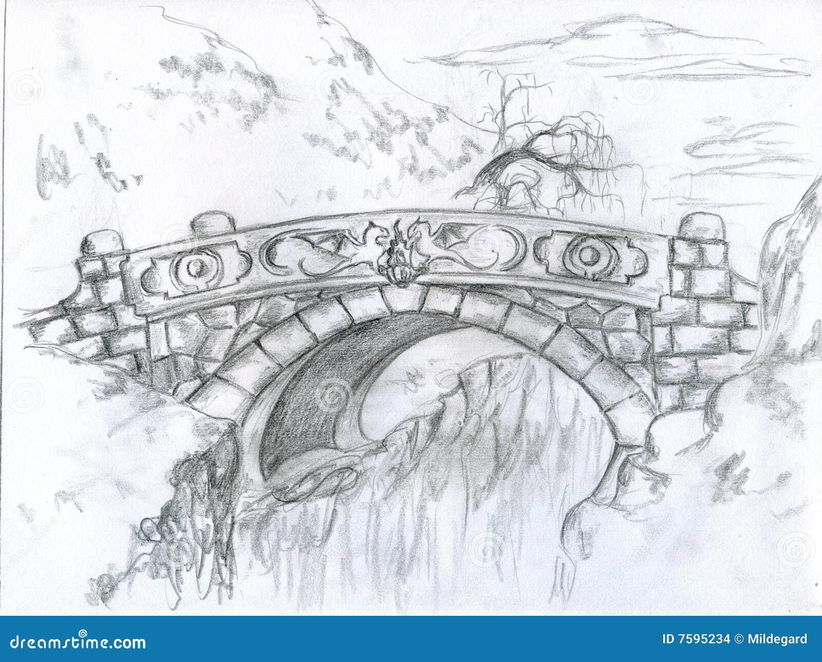 The Last Bridge Stock Images