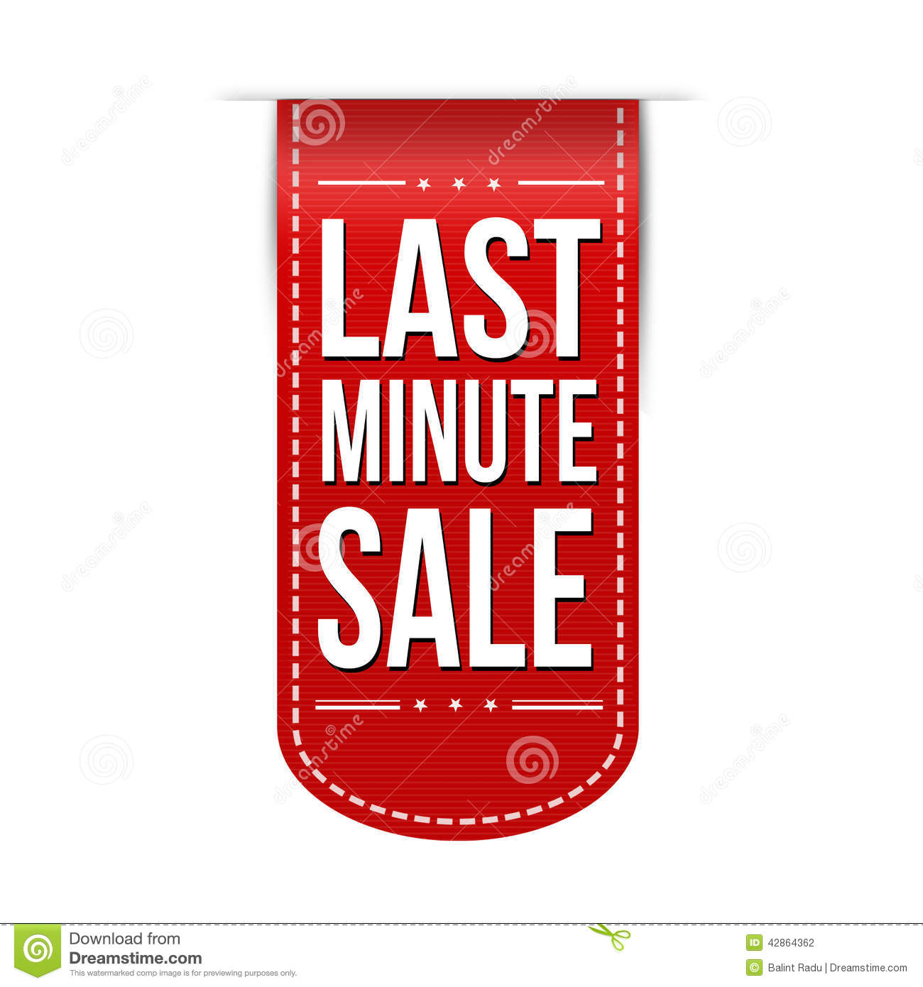 Last minute sale banner stock vector image of journey for Last minute design hotel