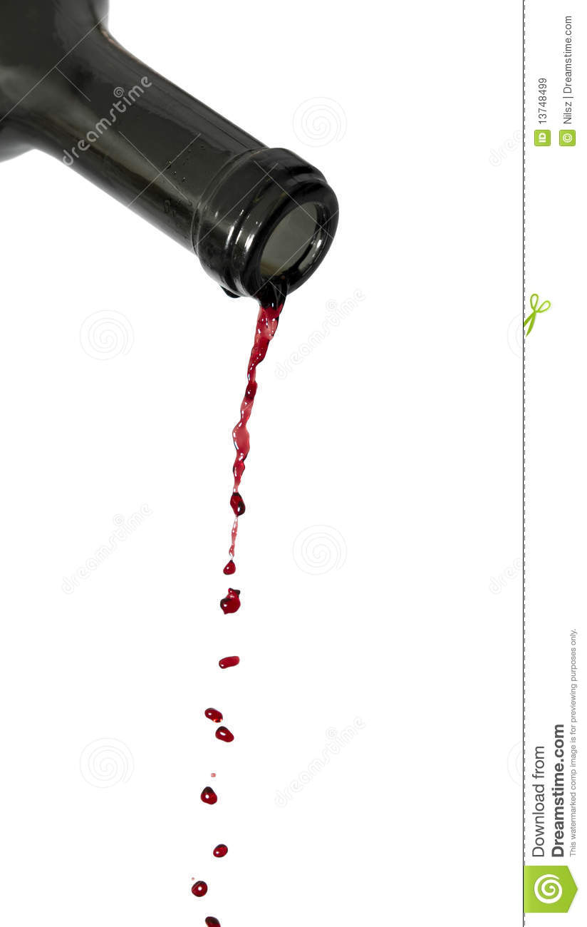 last red wine drops stock image image of bottle drip
