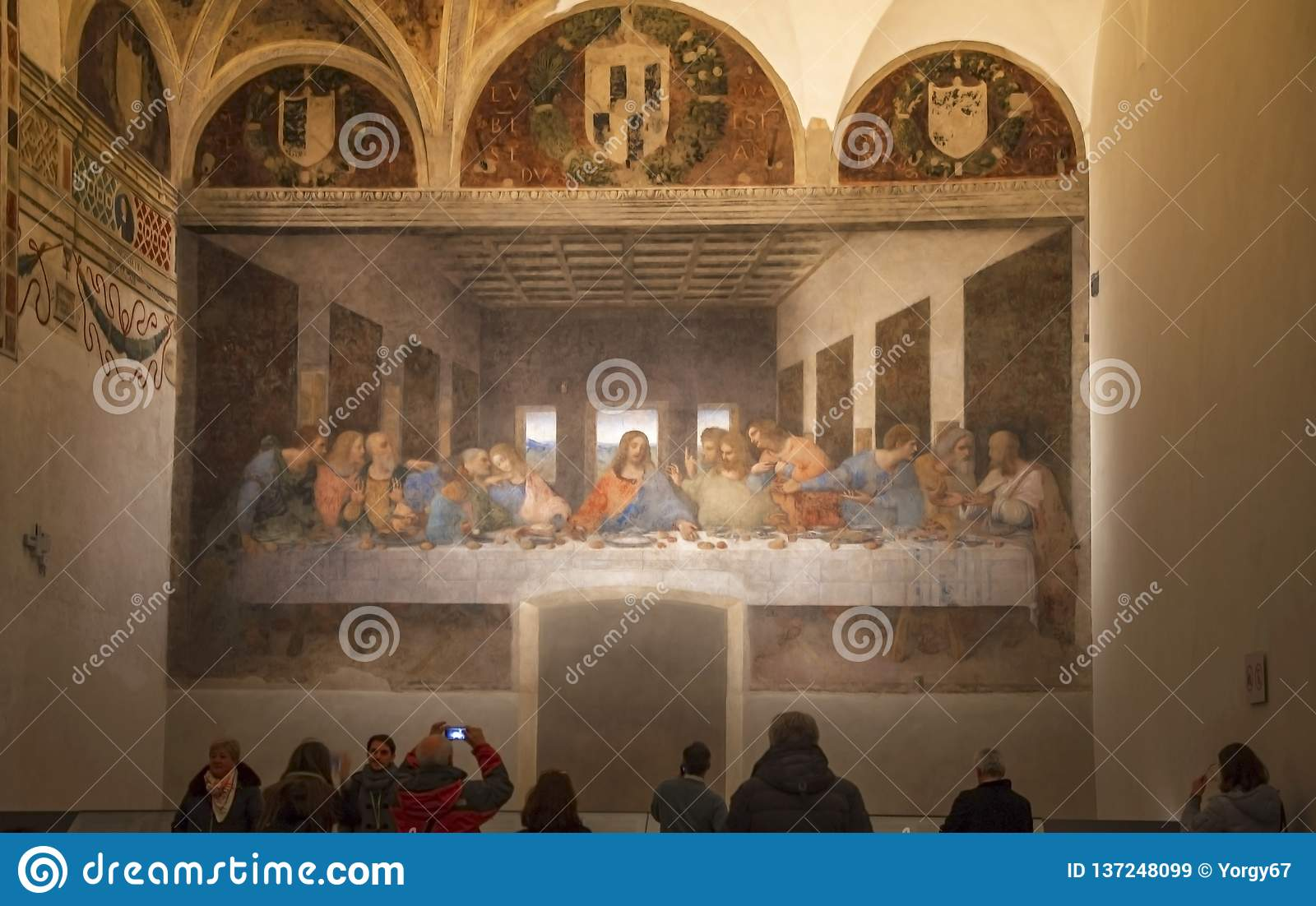 The Last Supper in Milan