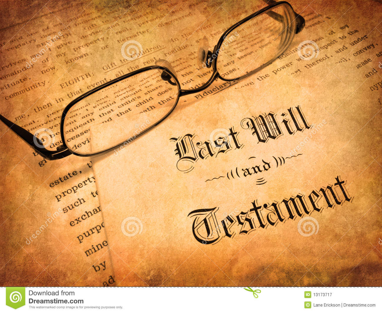 Last Will And Testament Royalty Free Stock Photography - Image ...