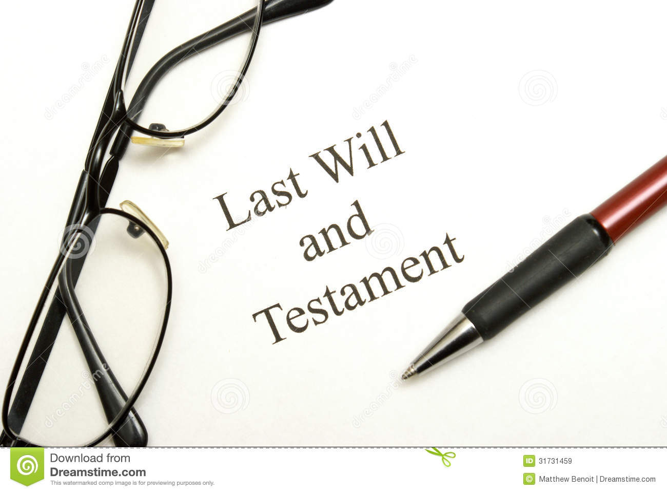 how to write a final will and testament