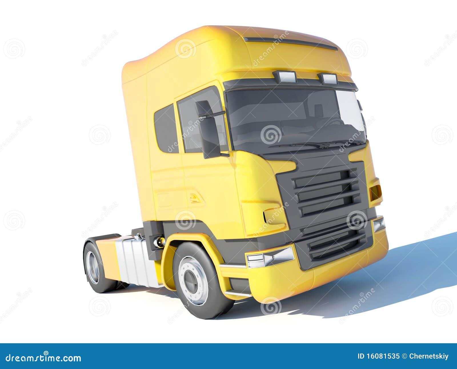 Lastbilyellow för cab s