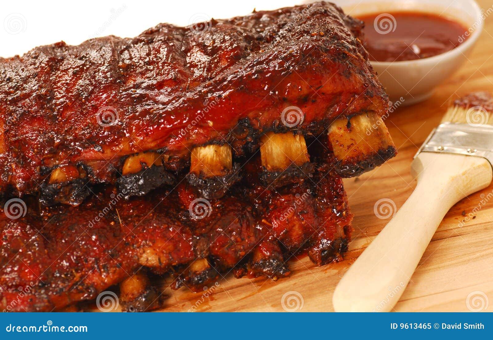 Lastre delle spuntature del BBQ
