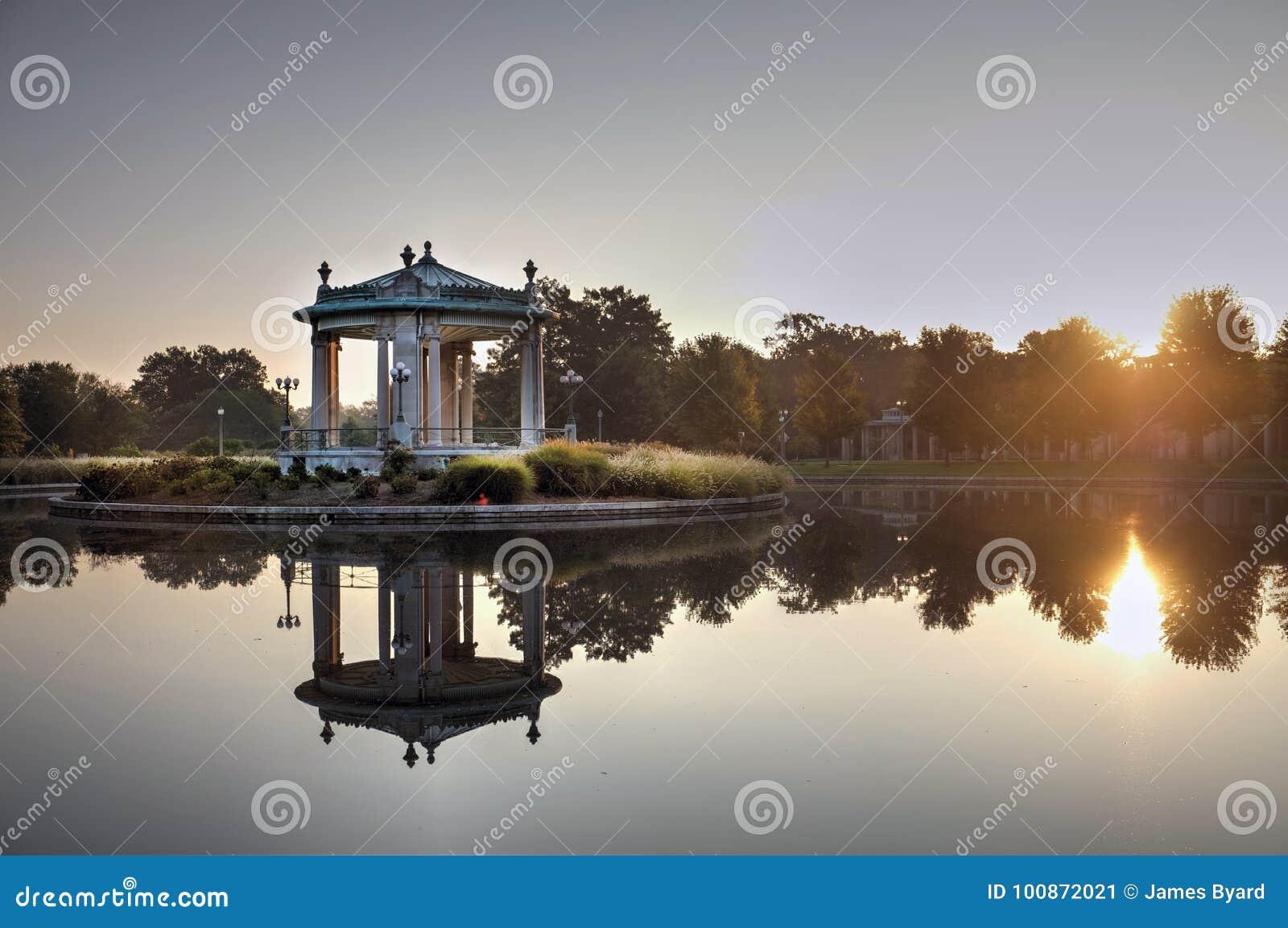 Lasu Parkowy bandstand w St Louis, Missouri