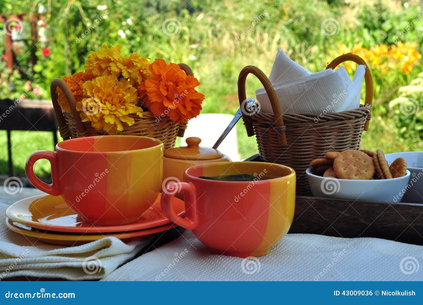 Lata herbaciany przyjęcie
