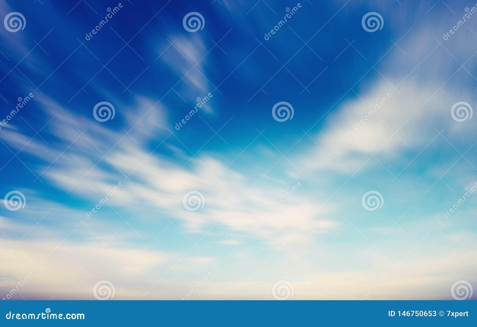 Lata niebo i chmury naturalny t?o