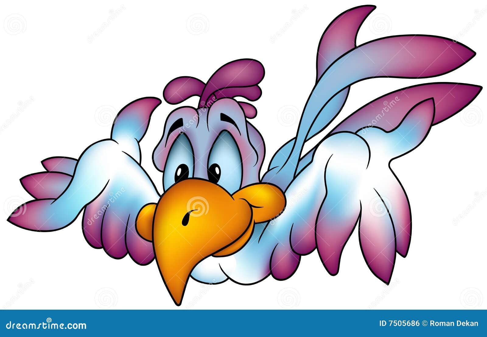 Latająca papuga