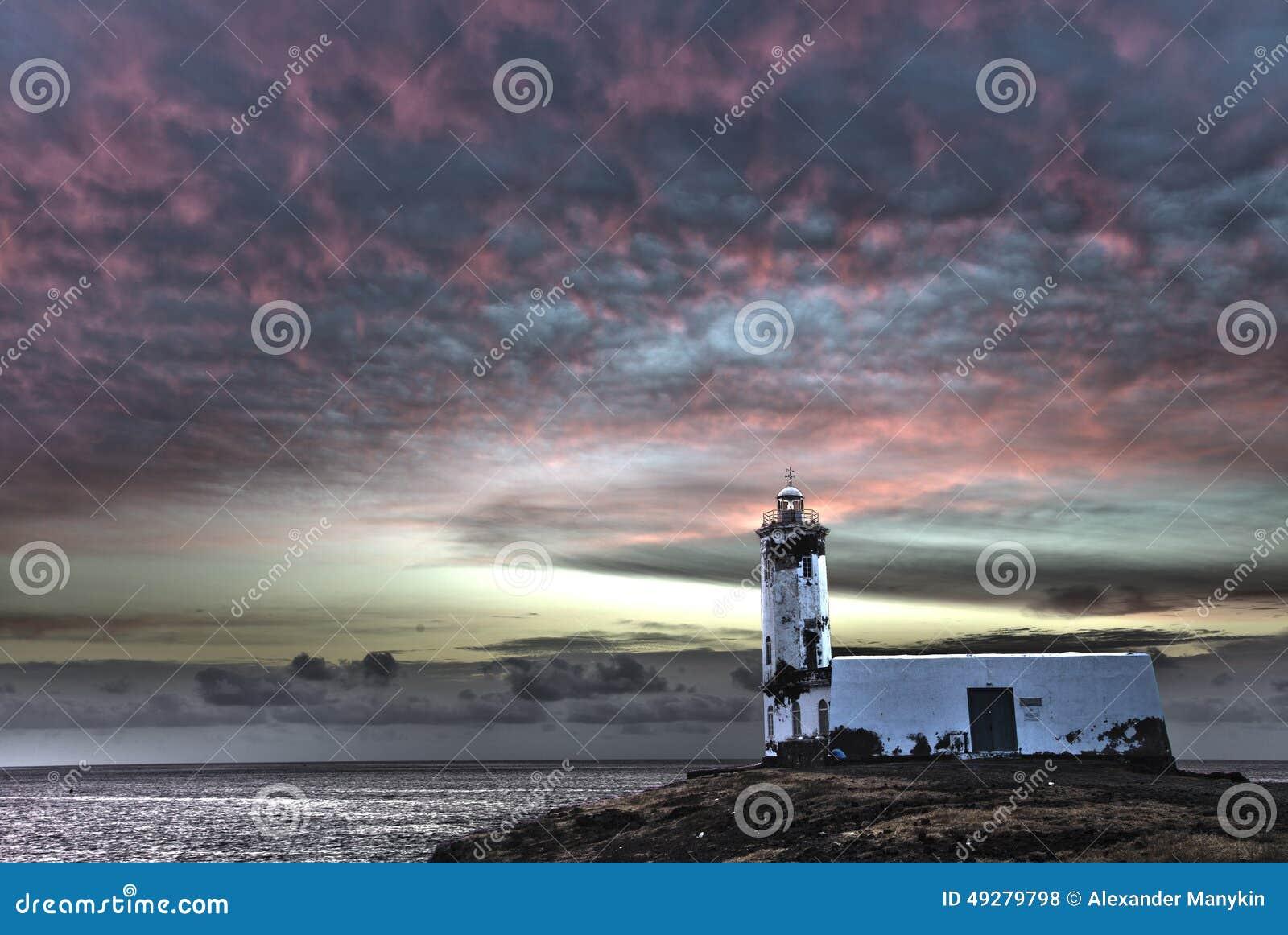 Latarni morskiej Maria Pia, Praia, przylądek Verde