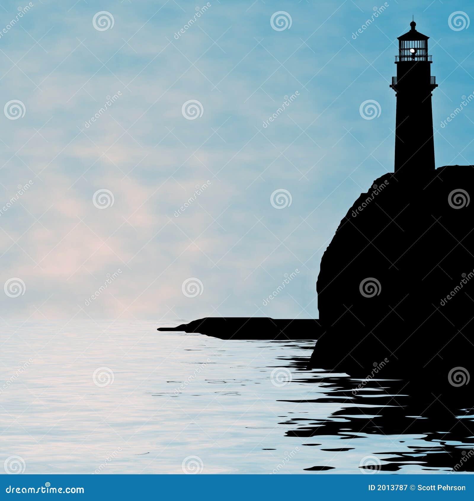 Latarnia morska ilustracyjna