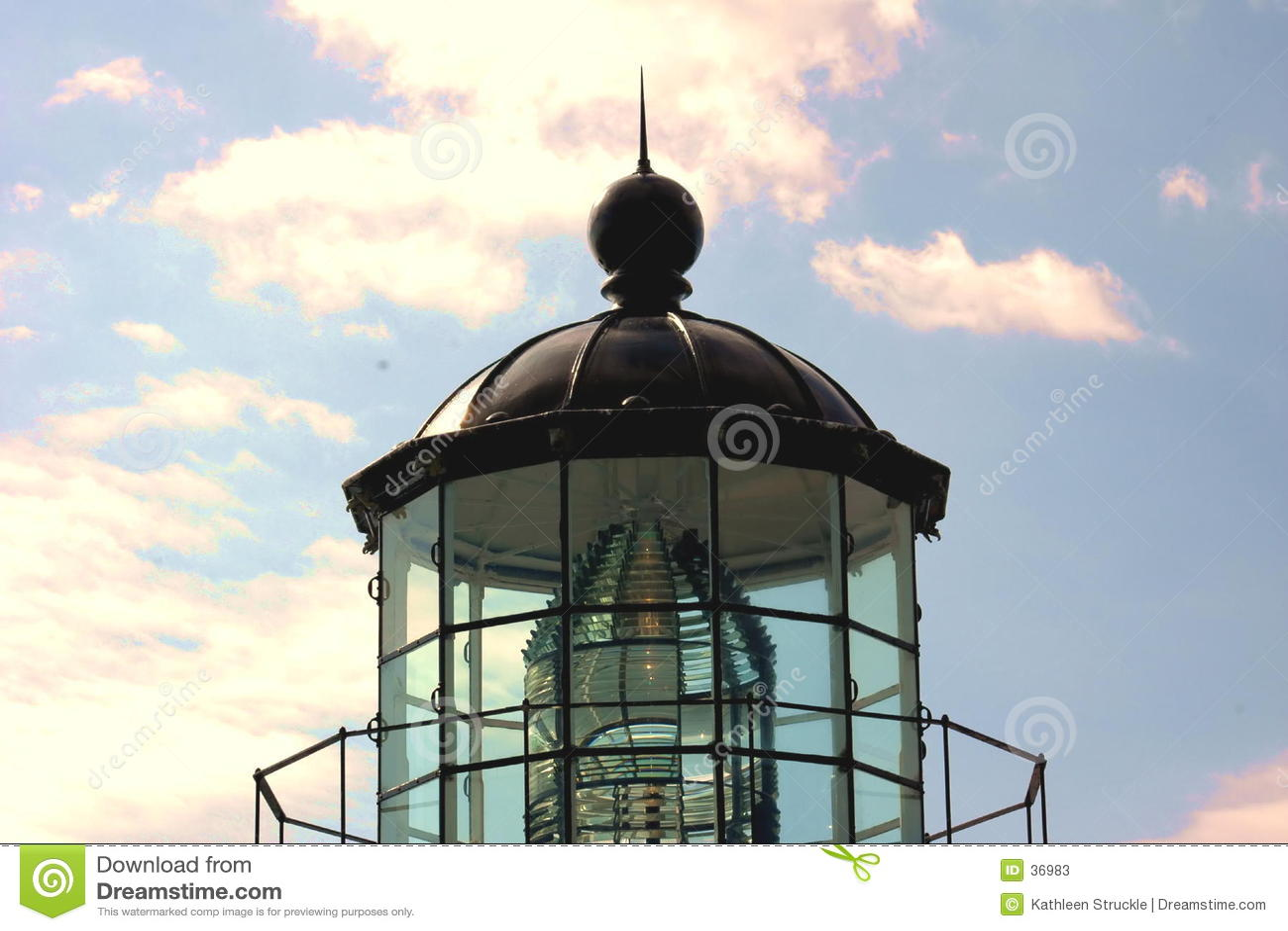 Download Latarnia morska top obraz stock. Obraz złożonej z stary - 36983