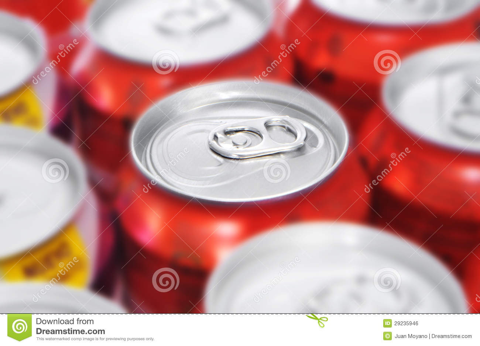 Download Latas de soda foto de stock. Imagem de horizontal, projeto - 29235946
