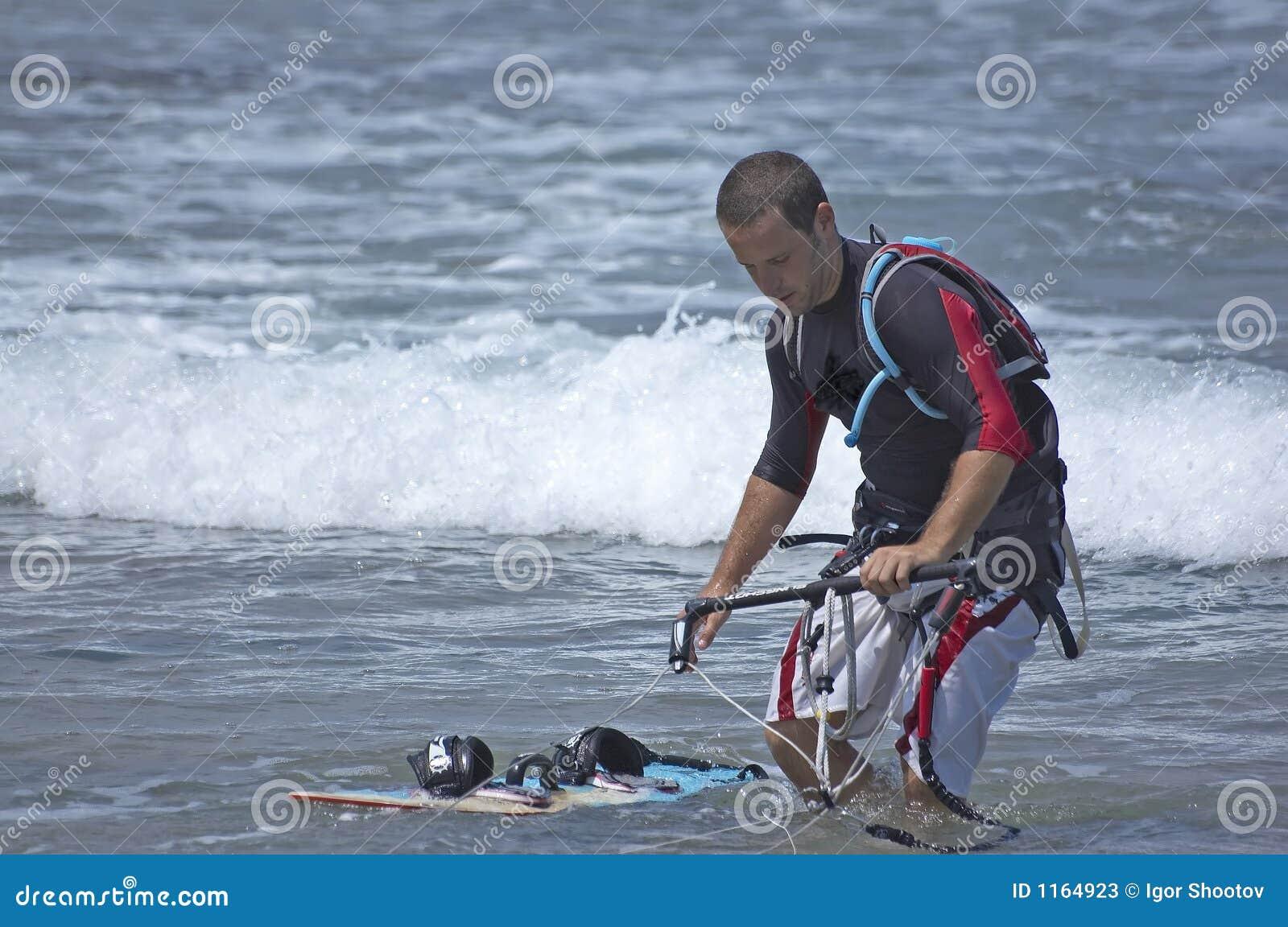 Latawiec surfera