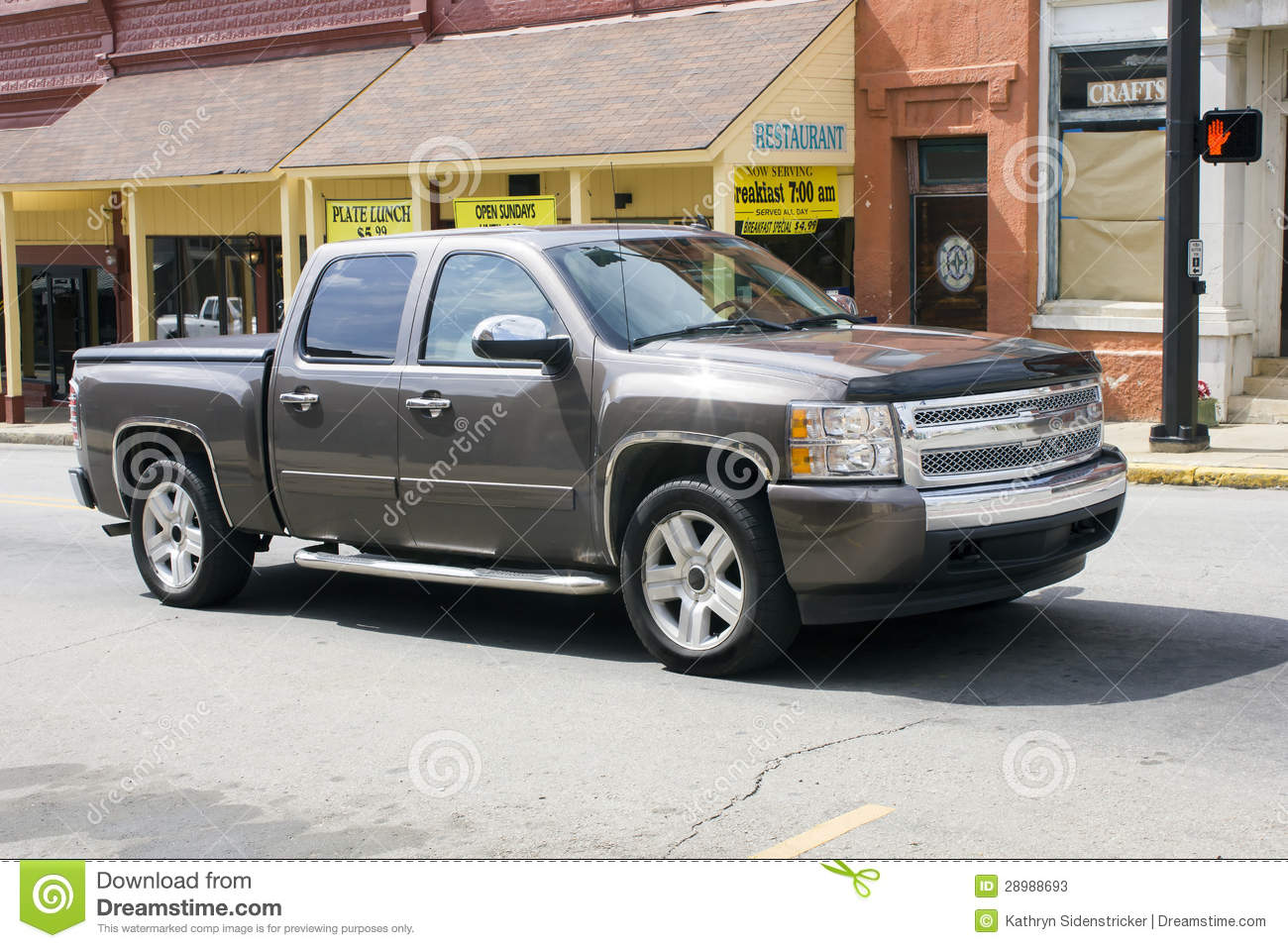 late model chevy pickup truck 2013 stock image image 28988693. Black Bedroom Furniture Sets. Home Design Ideas