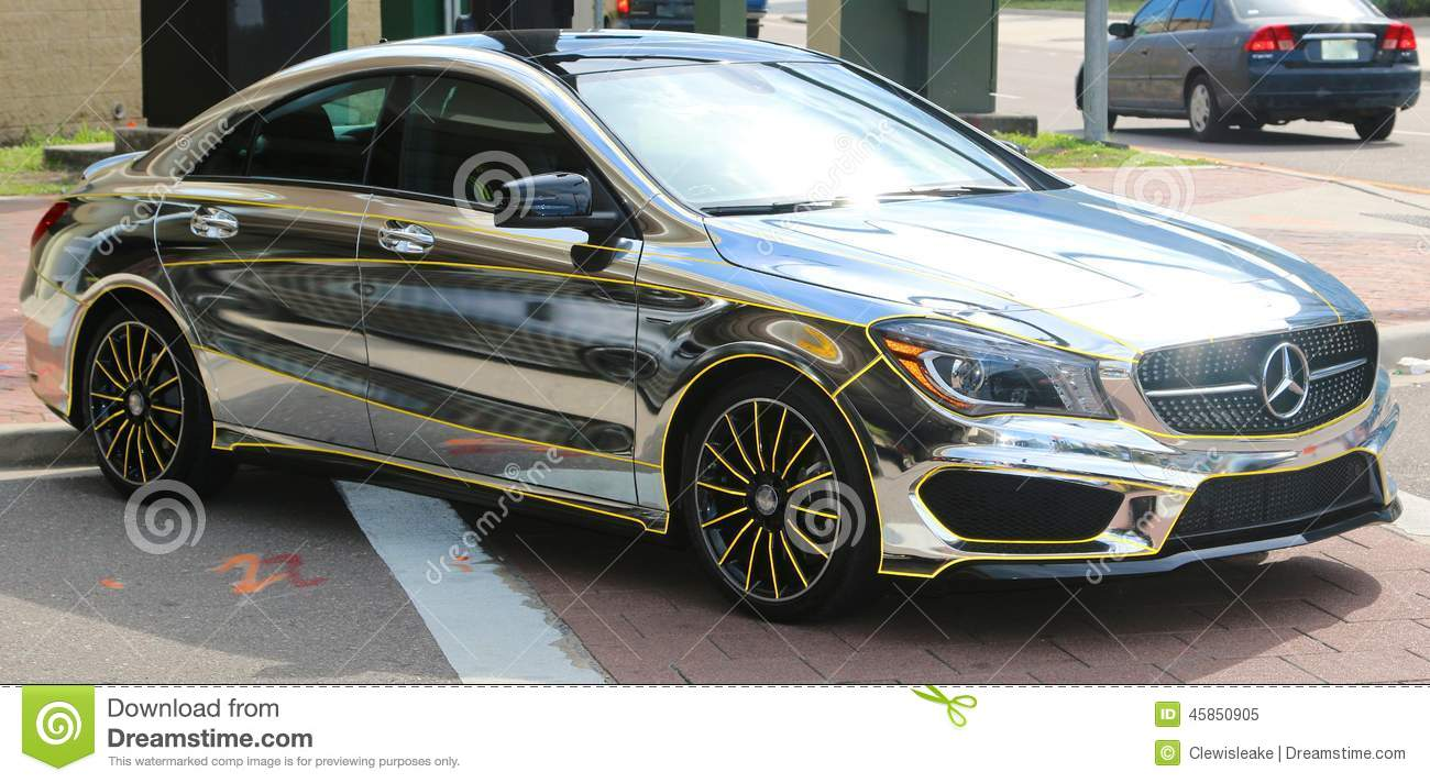 Chrome Mercedes Benz Editorial Image Image Of Orlando