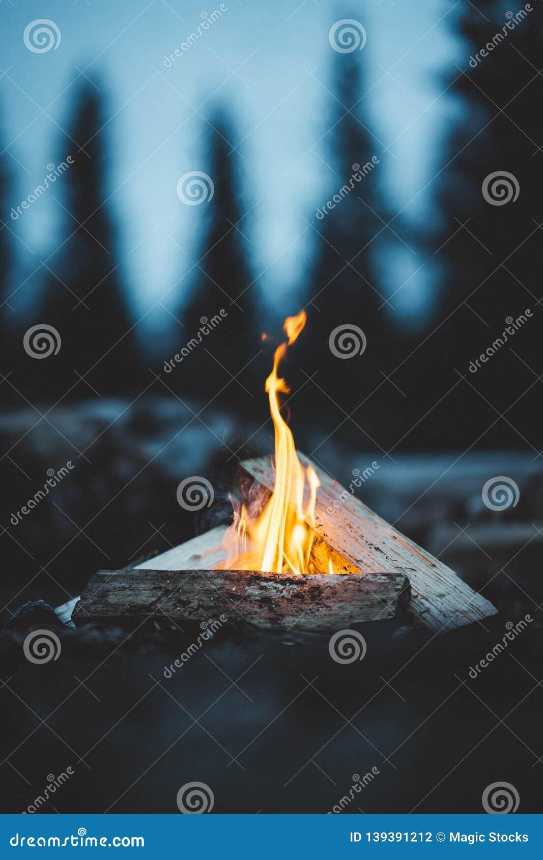 Late night fire