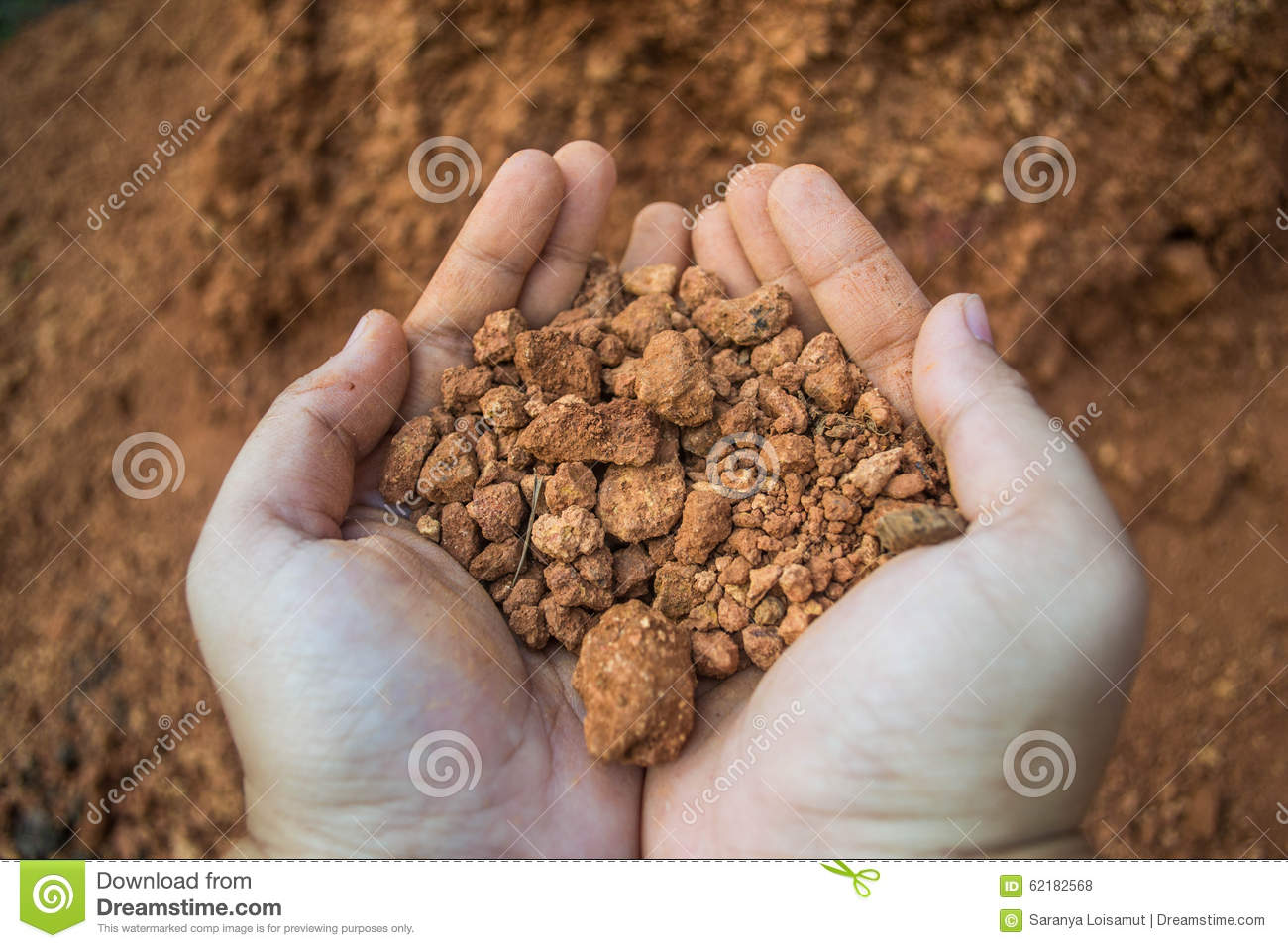 Laterite soil stock photo image 62182568 for Where do we find soil