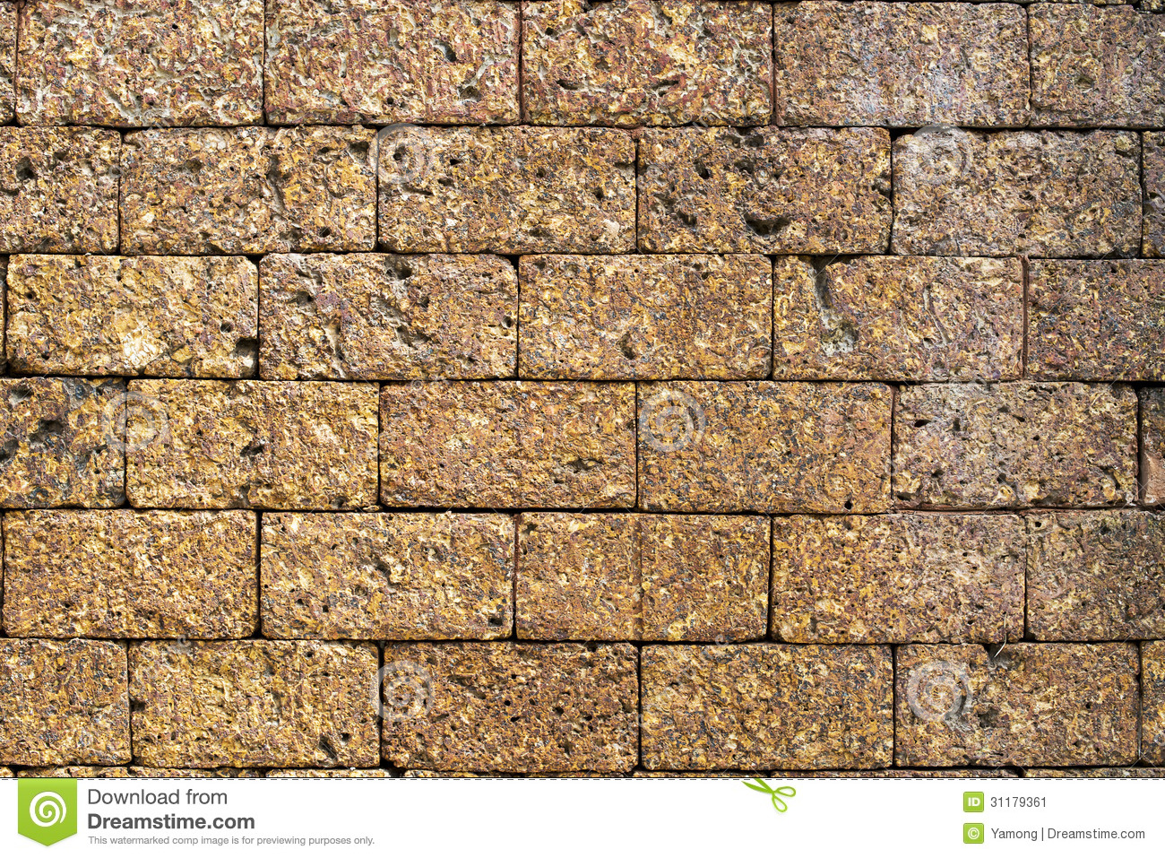 Laterite stone brick wall stock images image 35510874 - Brick Laterite Stone Wall