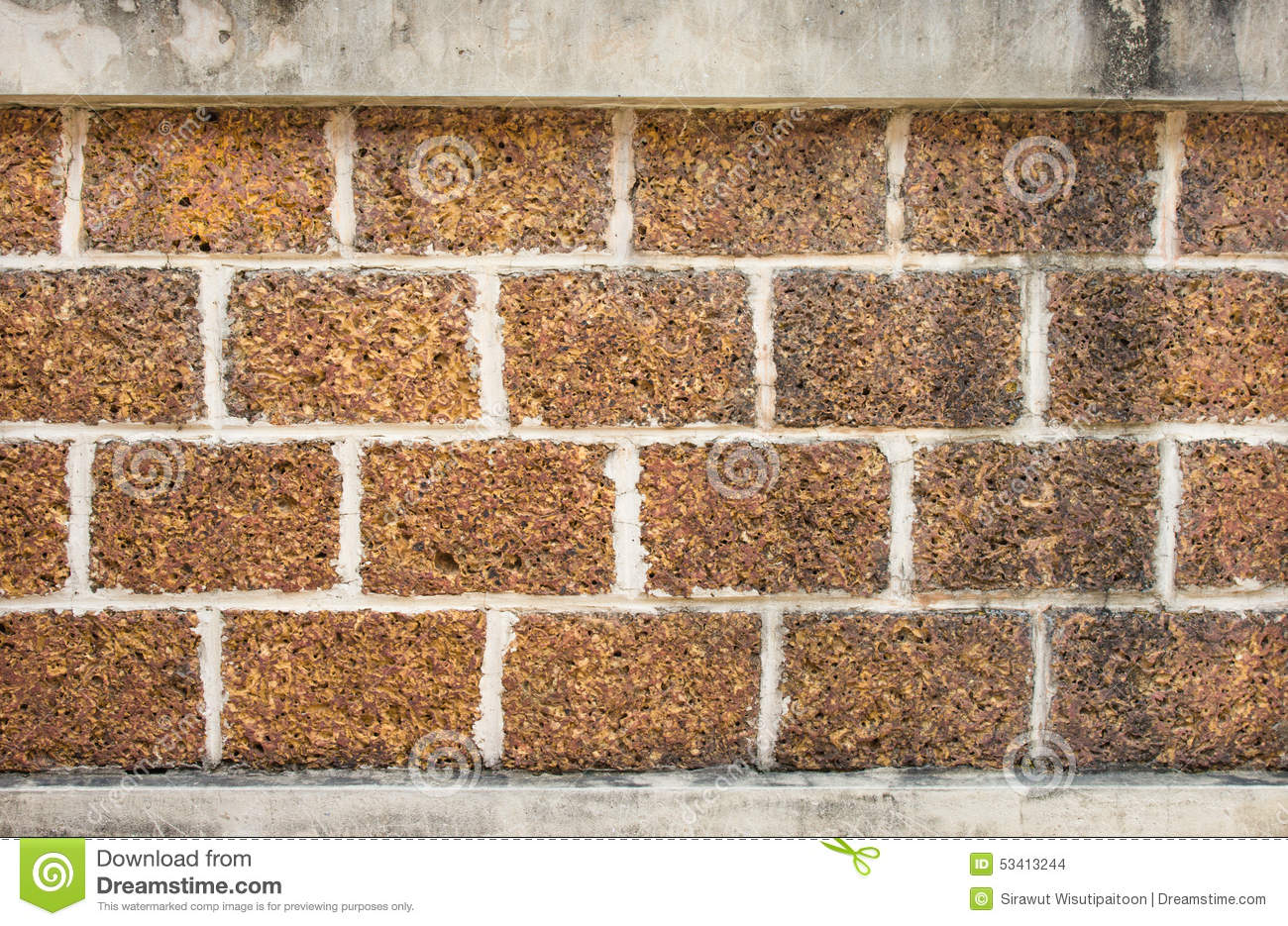Laterite stone brick wall stock images image 35510874 - Cement Laterite Stone Surface Wall Brickwork