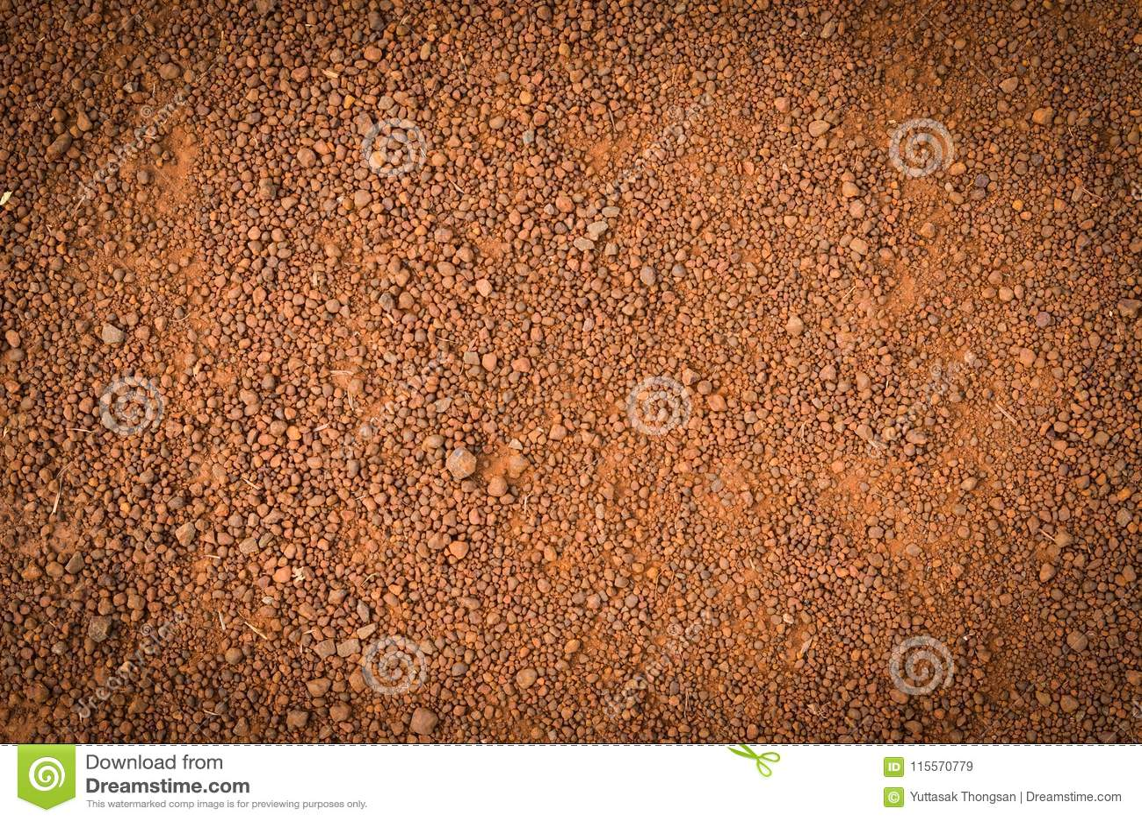 Lateritic текстура почвы, взгляд сверху