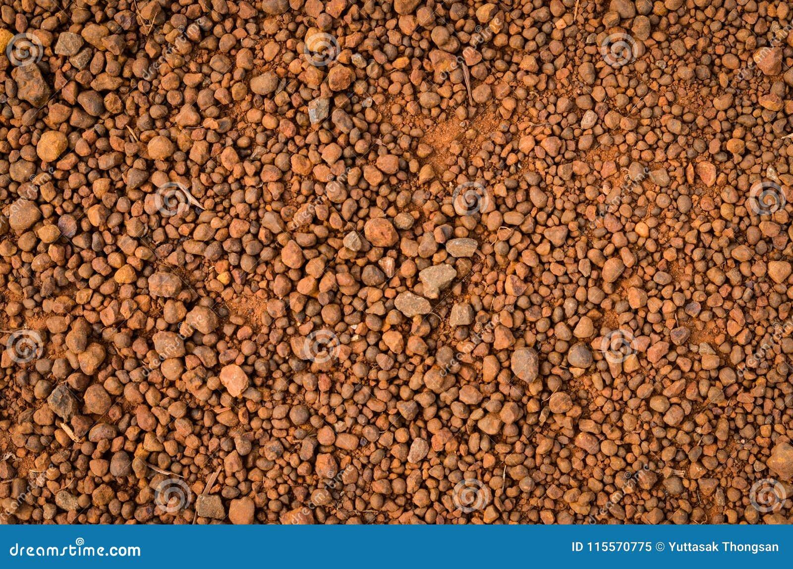 Laterytowa glebowa tekstura, odgórny widok