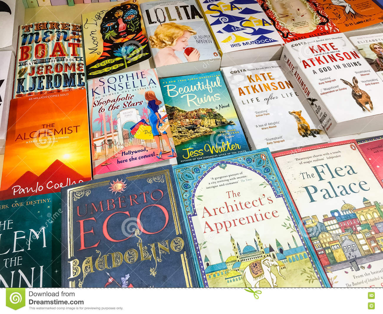 Latest English Famous Novels For Sale In Library Book Store ...