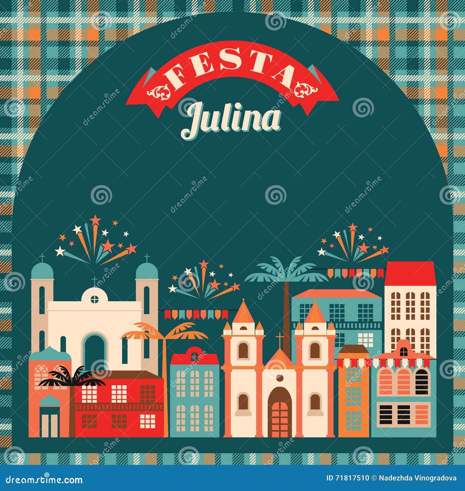 Latijns-Amerikaanse vakantie, de Juni-partij van Brazilië