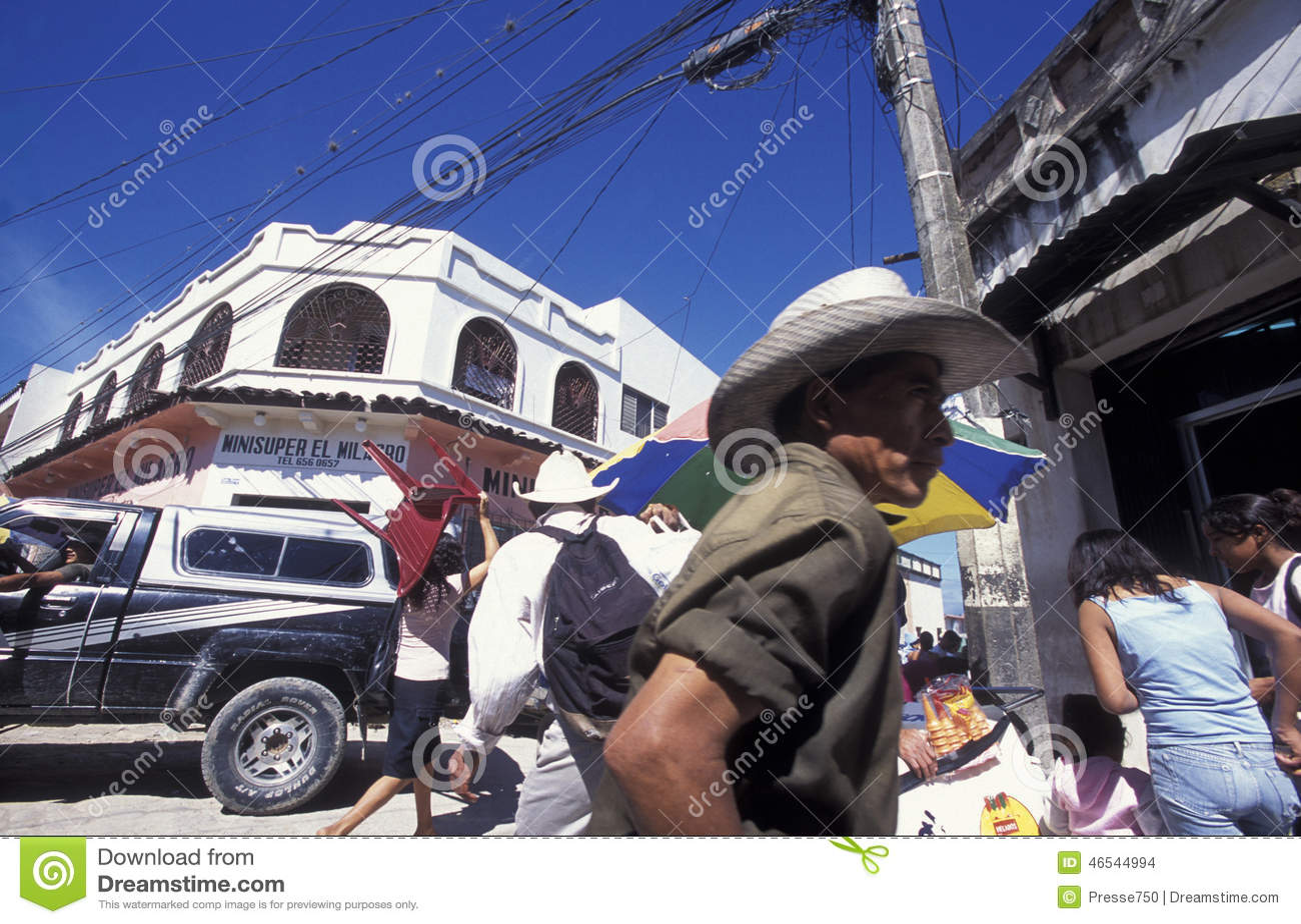 LATIN AMERICA HONDURAS SAN PEDRO SULA