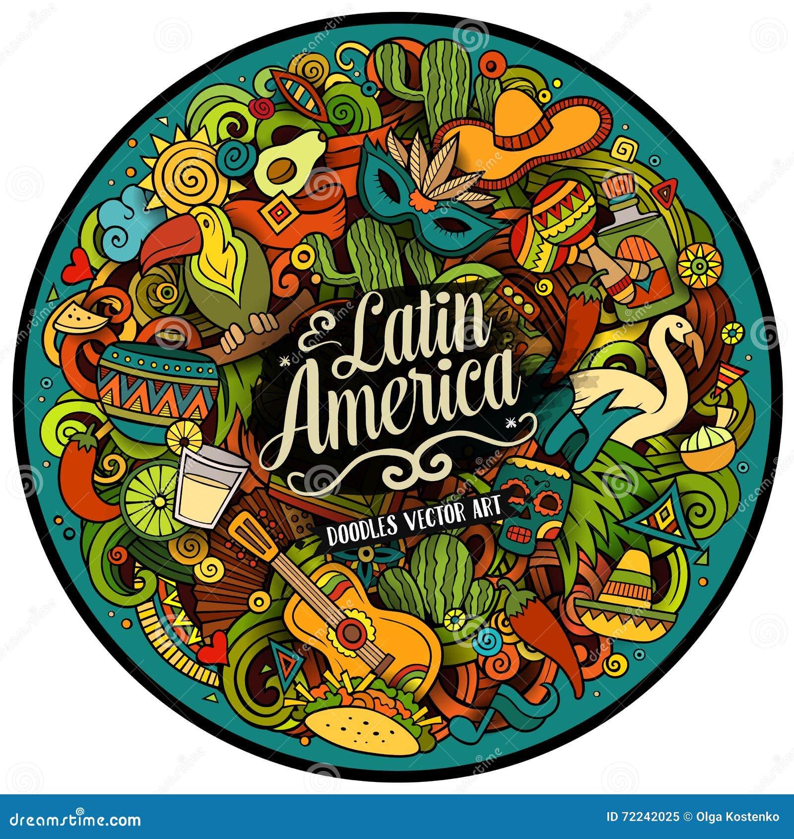 Ancient latins illustration