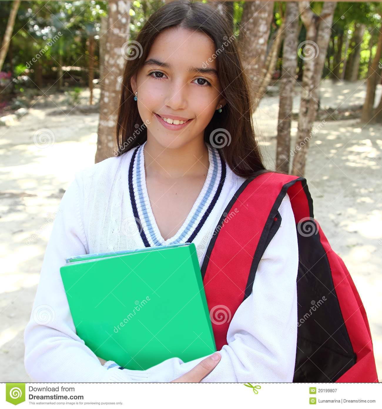 latin teenager girl backpack in mexico park royalty free free mexican clipart page borders free mexican clip art borders