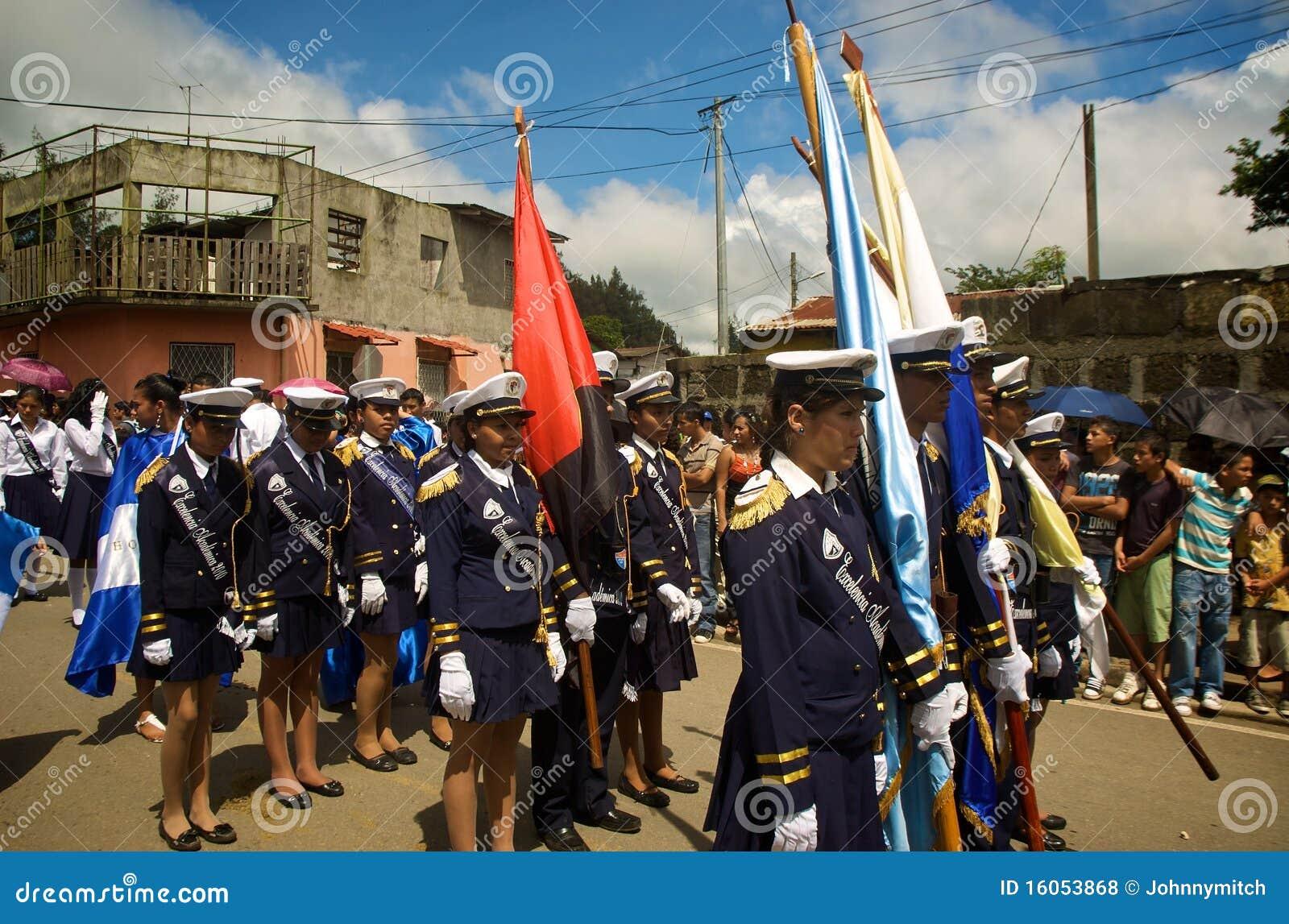 Latino Students Marching