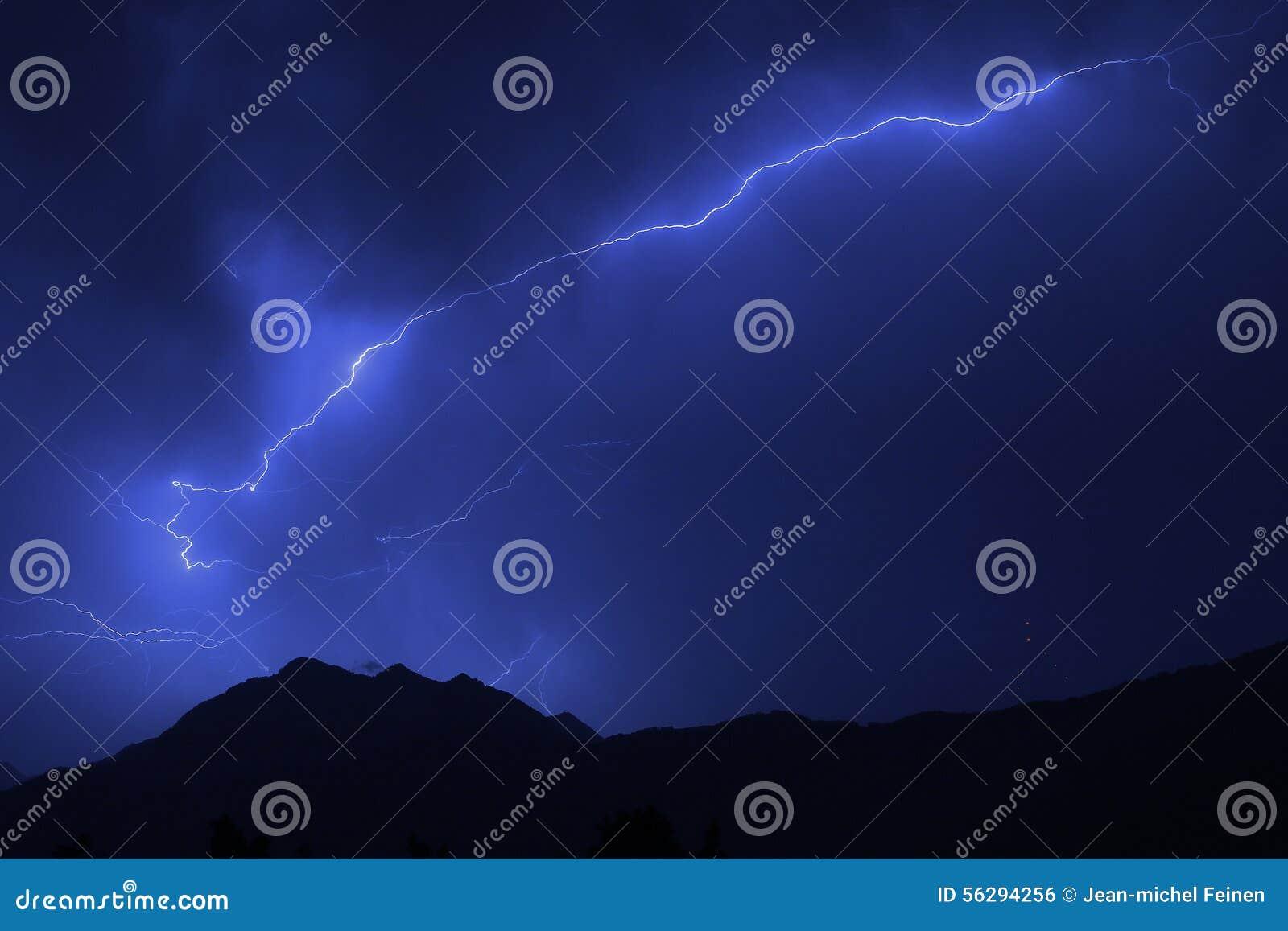 Lato błyskawicowa burza
