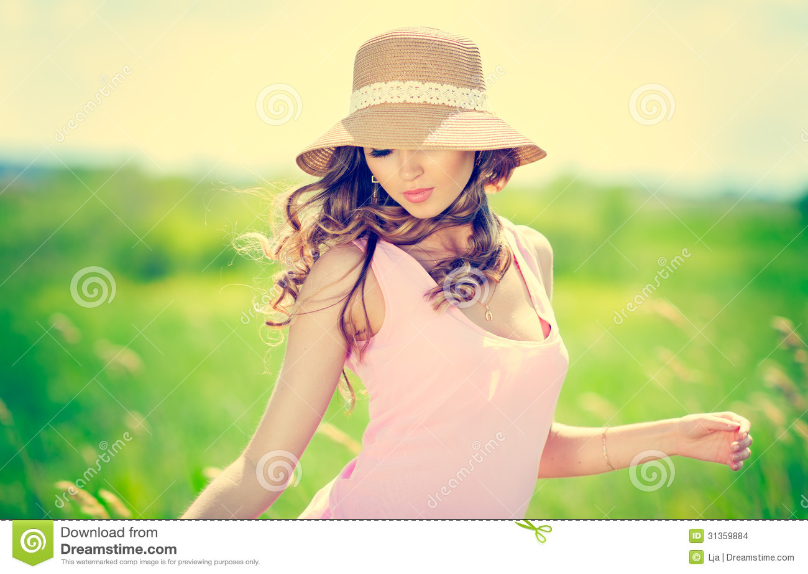 Lato kobiety portret