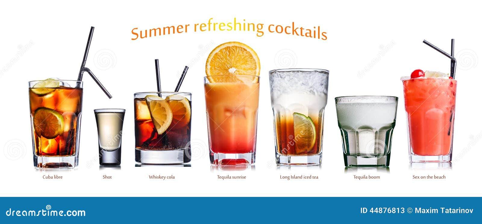 Lato odświeżający koktajle