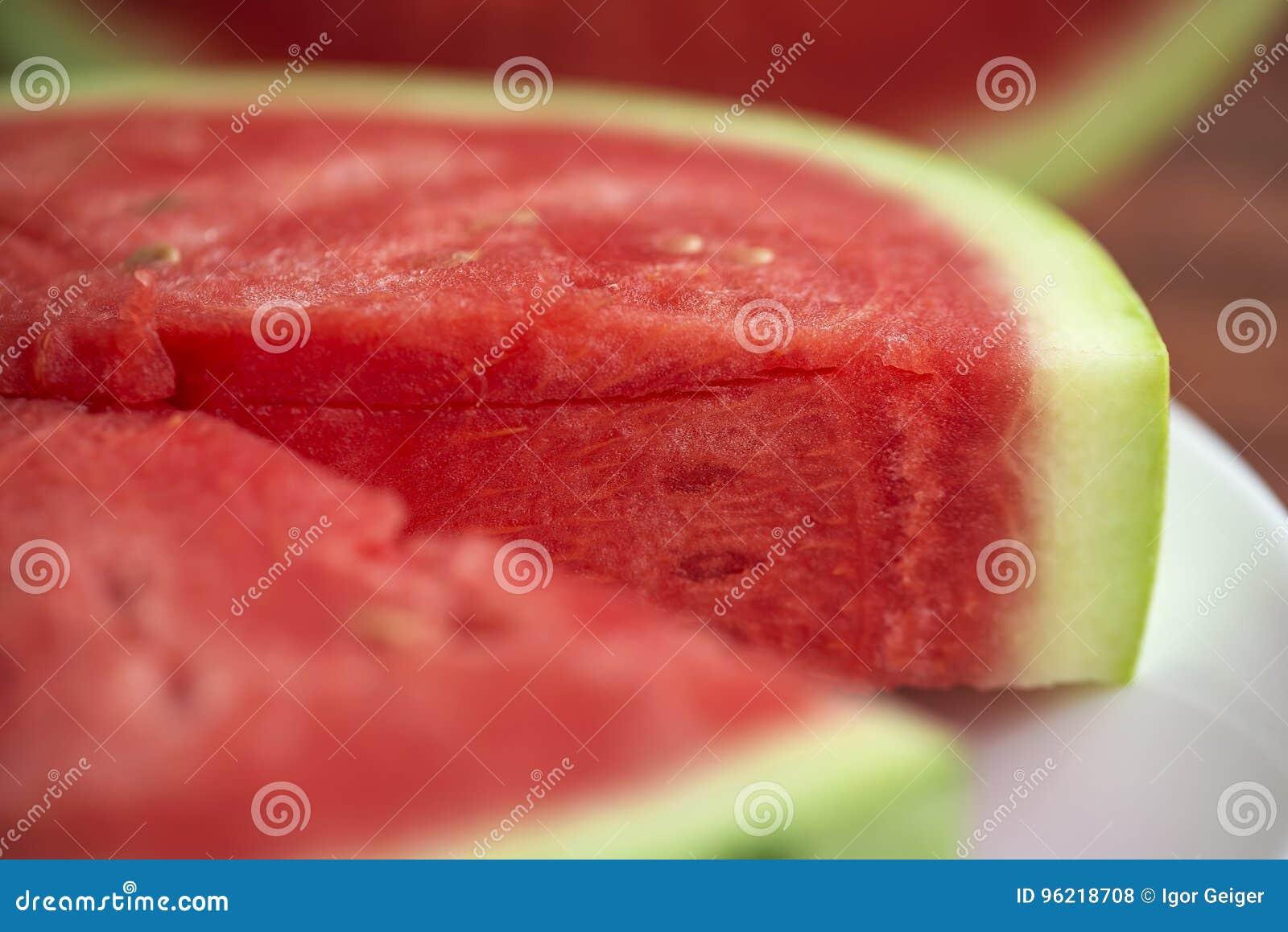 Lato owoc wciąż życie, naturalna arbuz świeżość