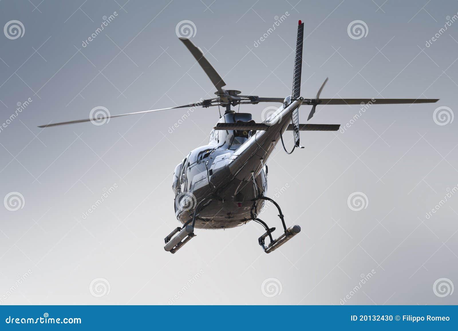 Elicottero Quarto : Lato posteriore dell elicottero fotografia stock immagine di