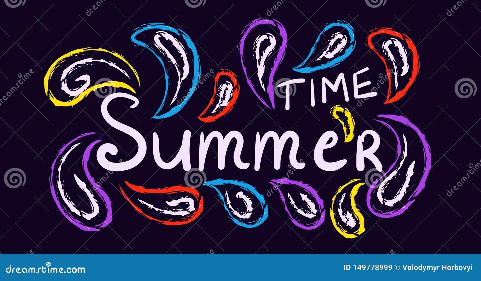Lato tradycyjny, karnawałowy pojęcie plakat