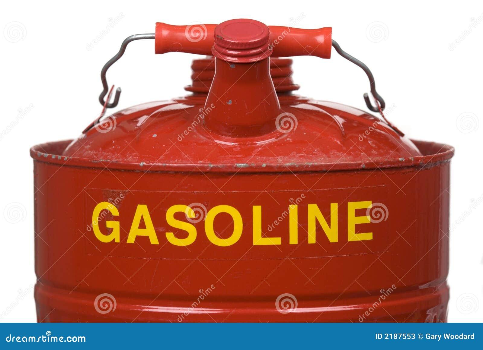 Latta della benzina.