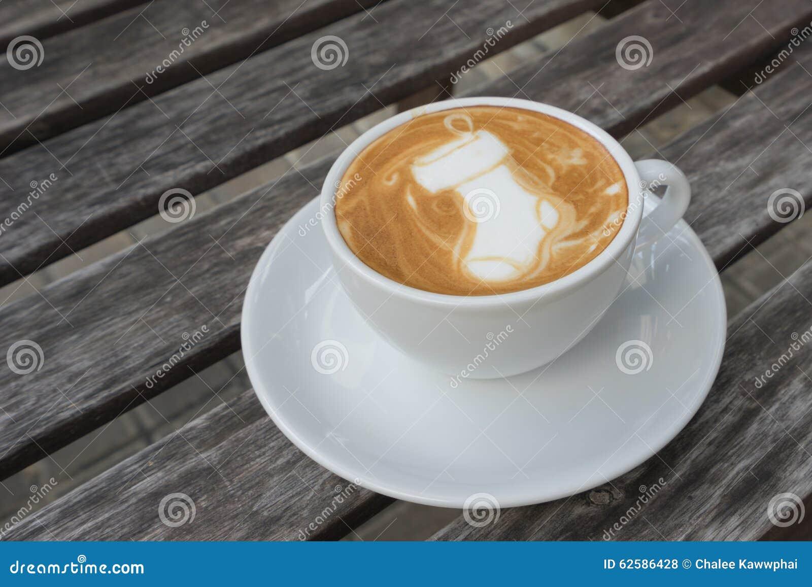 Latte Art Coffee Santa Sock