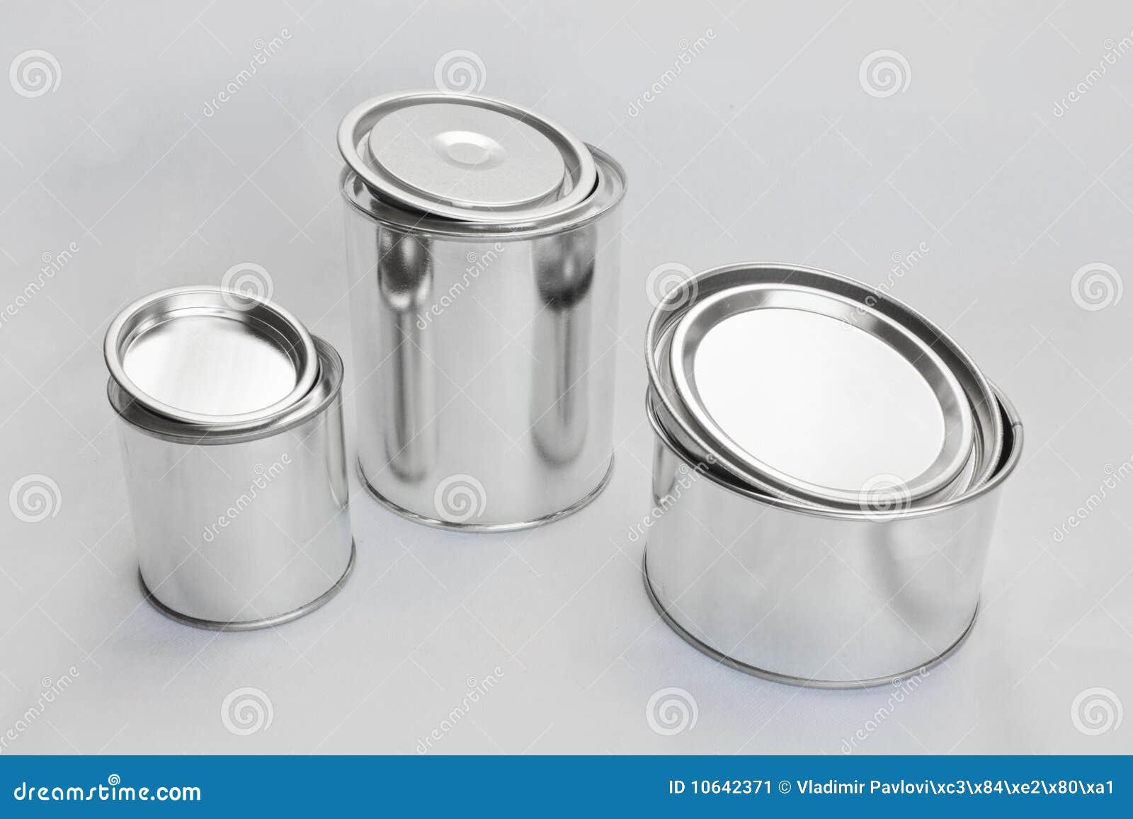 Latte brillanti del metallo per vernice immagine stock - Lucidare metallo a specchio ...
