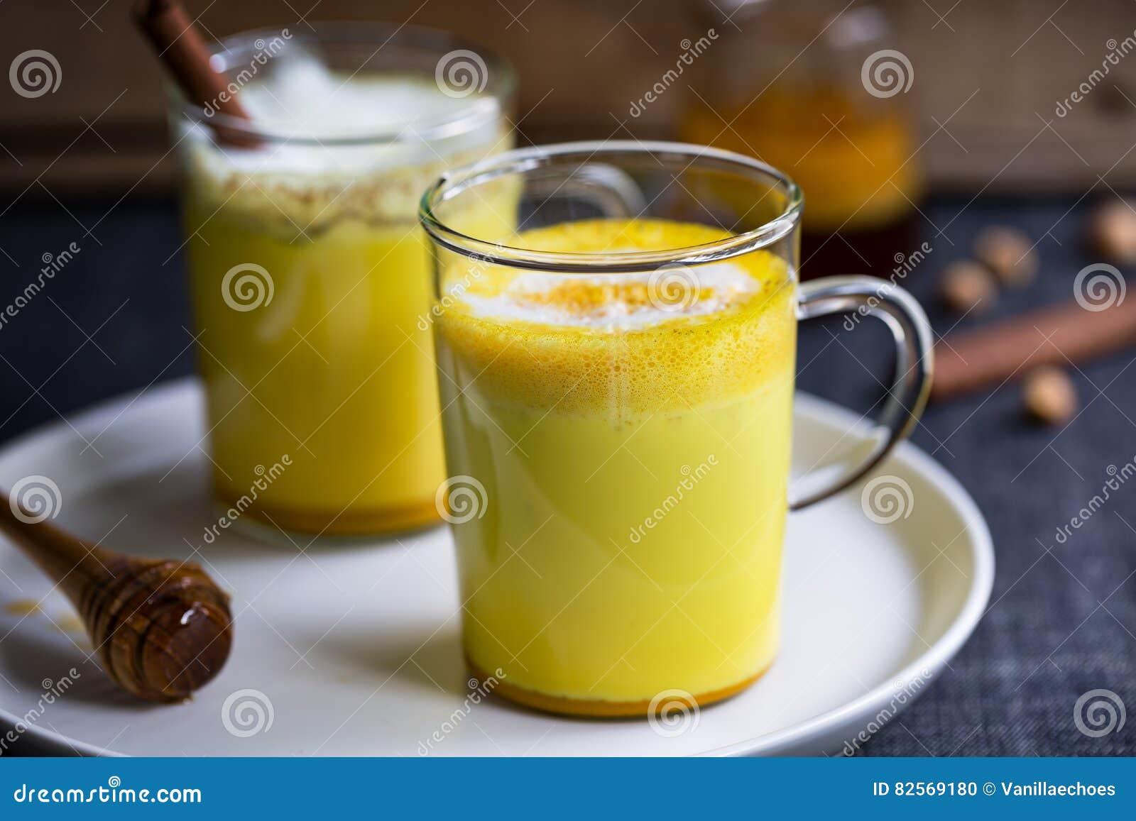 Latte de safran des indes