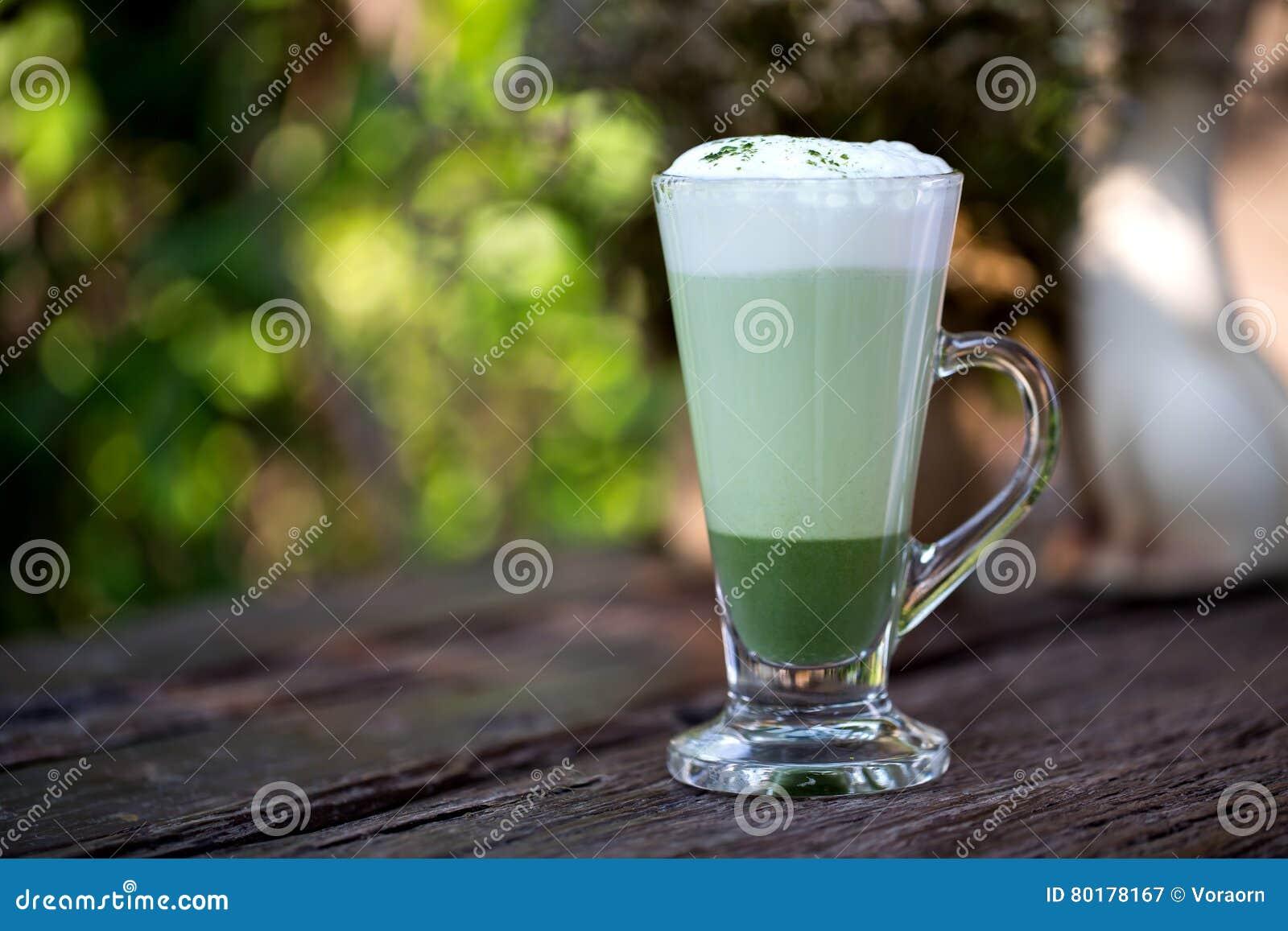 Latte de thé vert