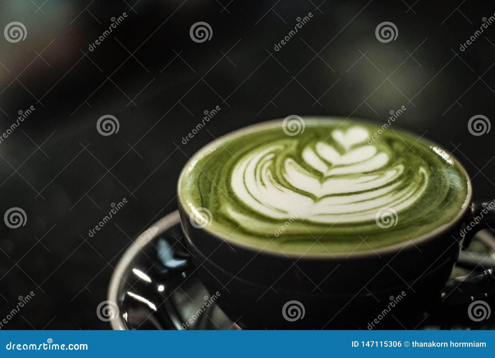 Latte de th? vert