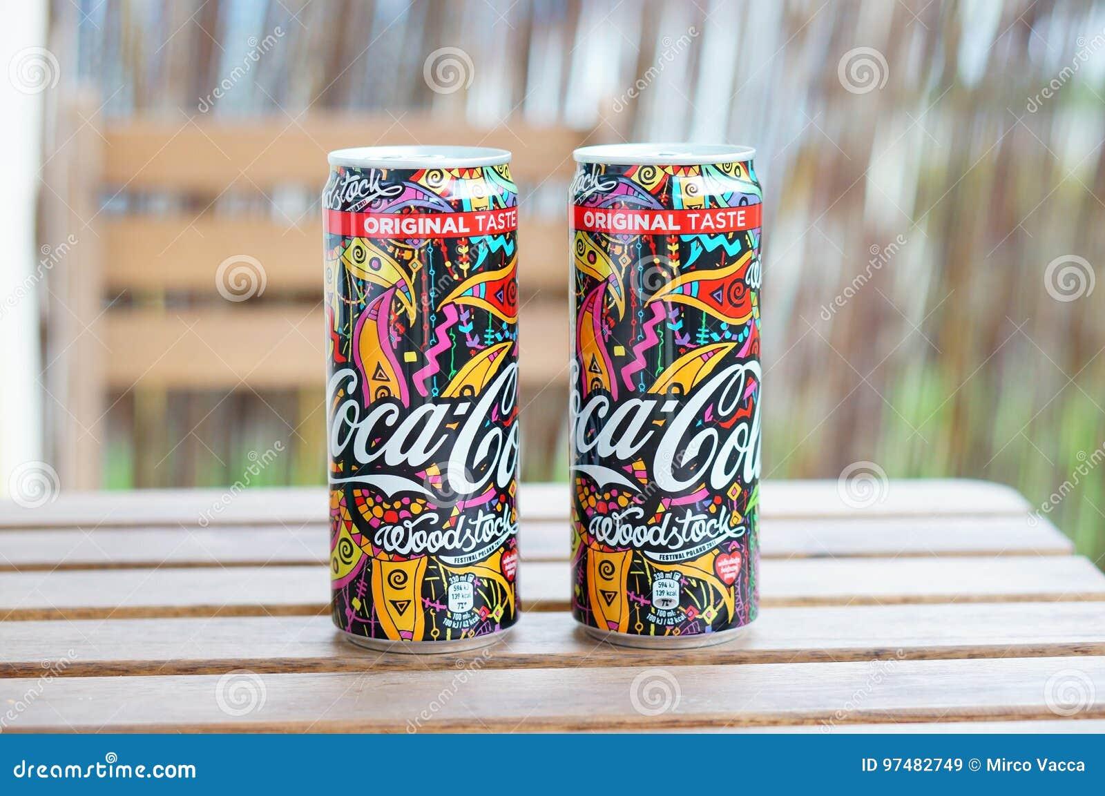 Latte della coca-cola