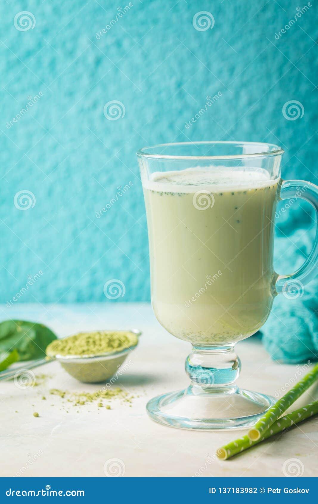 Latte di matcha del tè verde