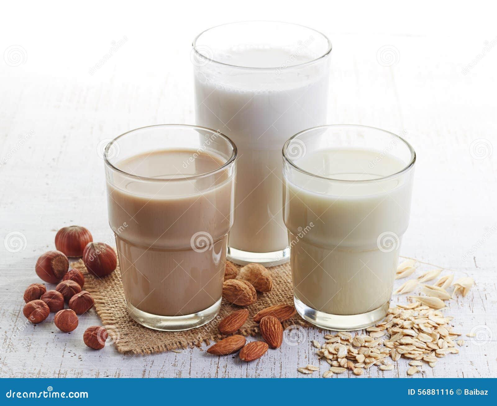 Latte differente del vegano
